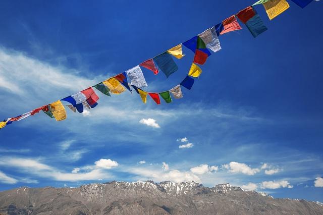 Tibetské vlajky