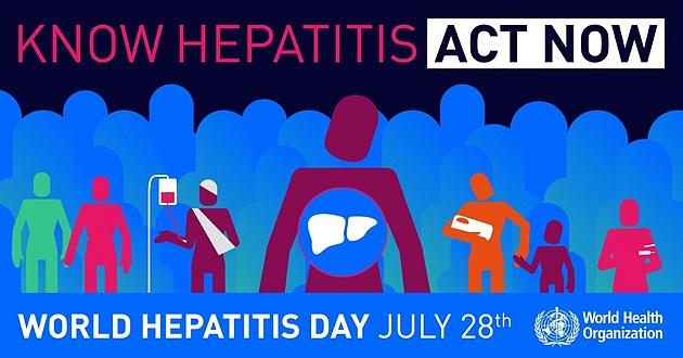 Světový den hepatitidy.