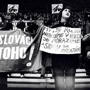 Hokejové zápasy ČSSR proti SSSR se v roce 1969 změnily v politický boj.