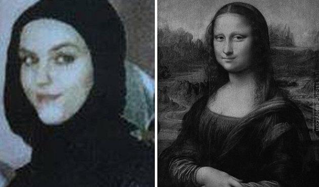 Krása Walentiny Slobodjanuk je srovnávána spůvabem Mony Lisy.