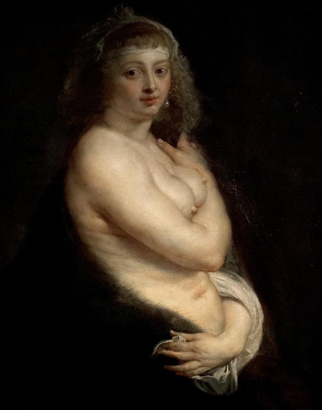 Peter Paul Rubens - portrét autorovy druhé manželky, 1638