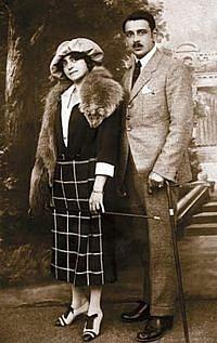 Rudolf Jelínek smanželkou Irenou