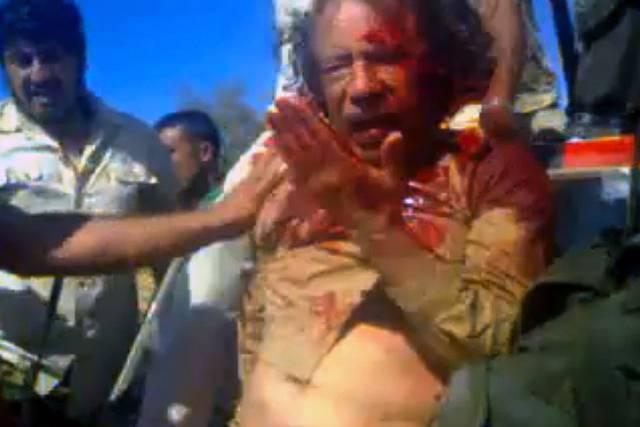 Lynčování Kaddáfího, 20. října 2011