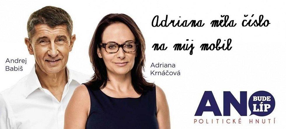 Internetoví vtipálci nemohli pominout ani to, že ANO mělo v posledních letech v Praze svou primátorku