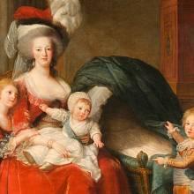 Marie Antoinetta s dětmi