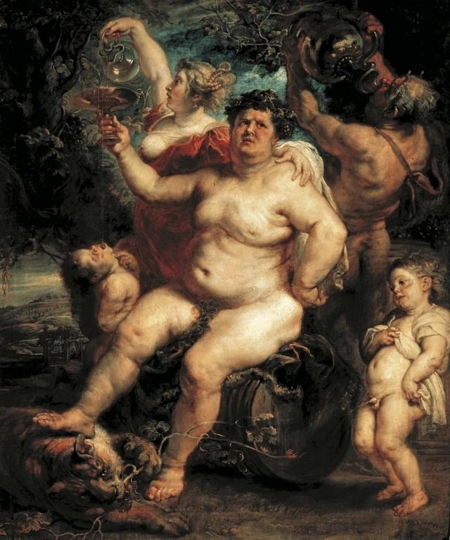 Dionýsos - Peter Paul Rubens, cca 1638-40