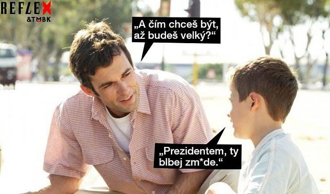 A jak výroky Miloše Zemana působí na děti?