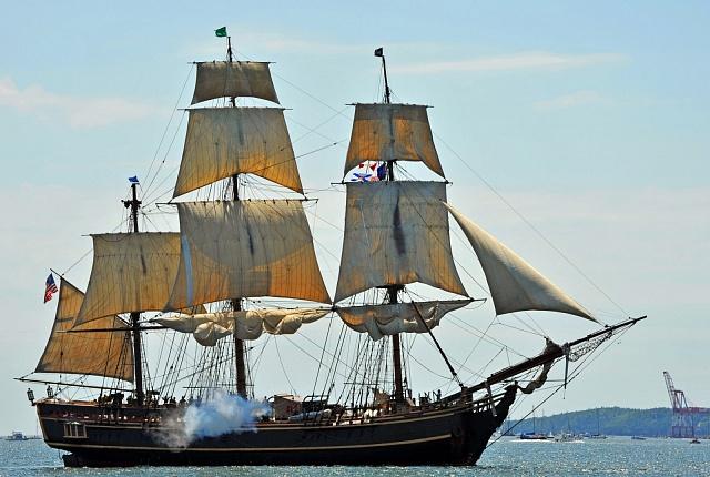 Replika lodi Bounty