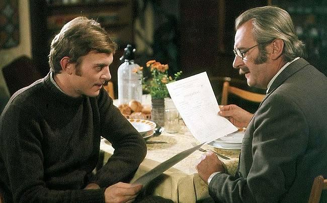 Jiří Schmitzer a Jiří Sovák v komedii Marečku, podejte mi pero!
