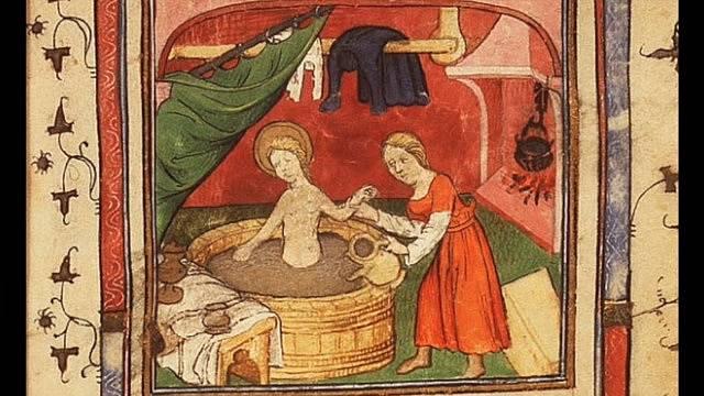 Koupele ve středověku nebyly nic výjimečného.