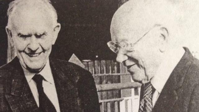 Eugene Lazowski a Stanisław Matulewicz