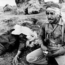 Zraněný irácký voják, 25.9. 1980
