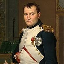 Nejznámější francouzský vojevůdce, Napoleon I. Bonaparte
