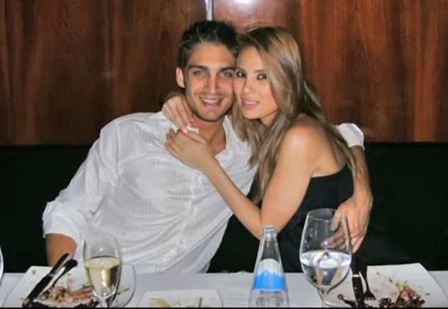 Angie Sanclemente Valencia s bývalým přítelem