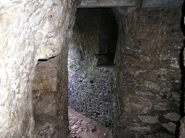 HLadomorna na irském hradě