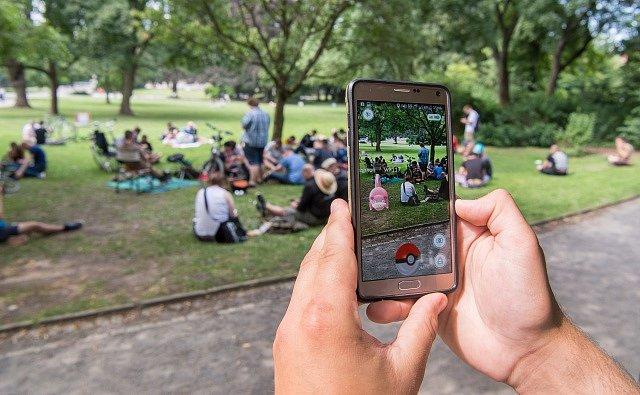 Pokémon GO v akci