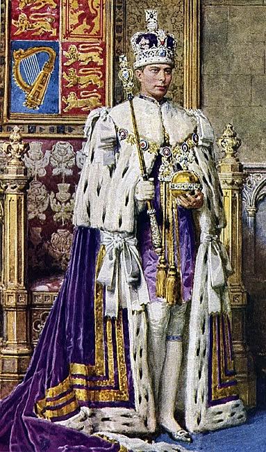 Korunovace, která se neuskutečnila: Eduard VIII. na předem připraveném portrétu