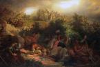 Bitva u Moháče v představě romantického malíře