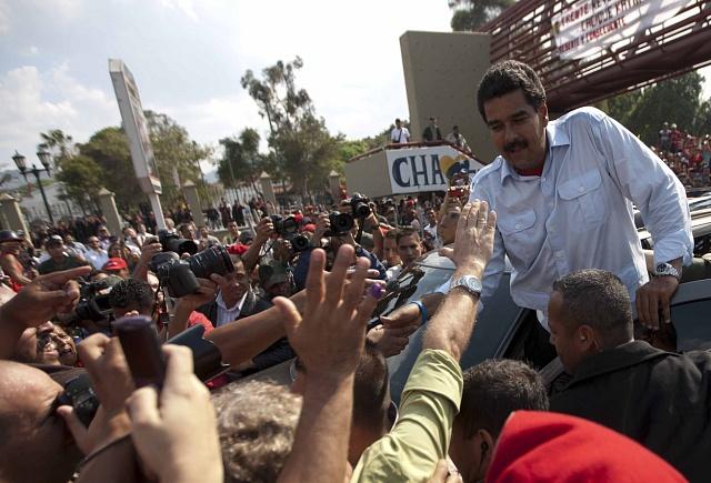 Po svém zvolení prezidentem vbřeznu 2013měl Nicolás Maduro velkou podporu.