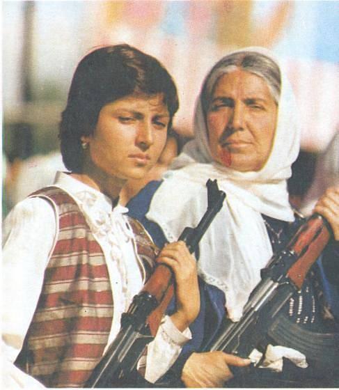 Afghánky, bojovnice