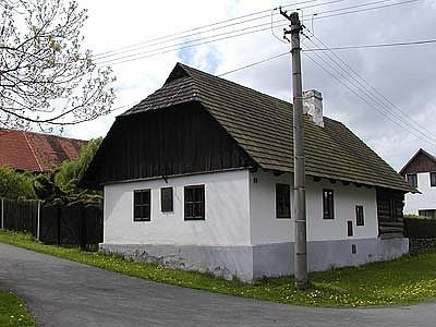 Rodný domek Františka Křižíka vPlánici na Plzeňsku