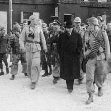 Otto Skorzeny při záchraně Benita Mussoliniho