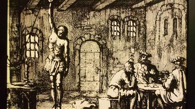 Estrapáda, mučicí technika, používaná dodnes