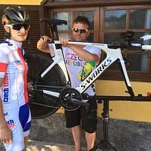Martina Sáblíková má za sebou úvodní dny svého pobytu v dějišti Olympijských her v Riu de Janeiru.