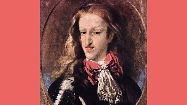Karel II. Španělský byl deformován psychicky i fyzicky
