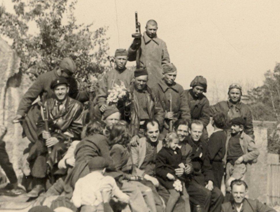 Rudá armáda v Dolních Chabrech