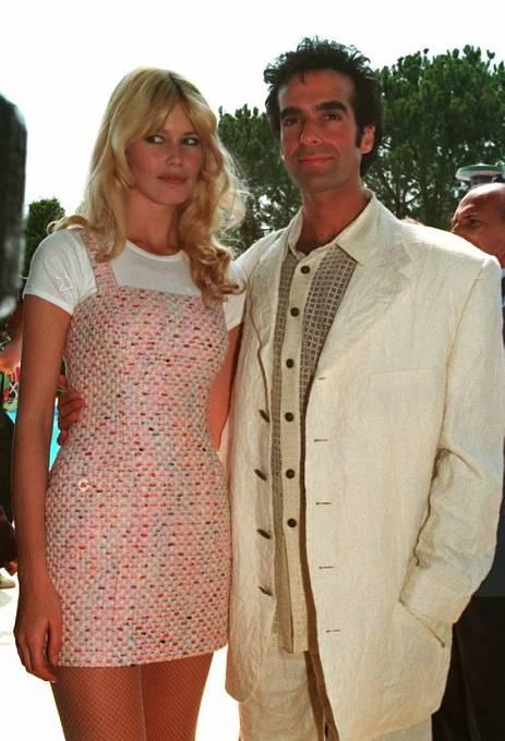 David Copperfield s bývalou láskou Claudií Schiffer
