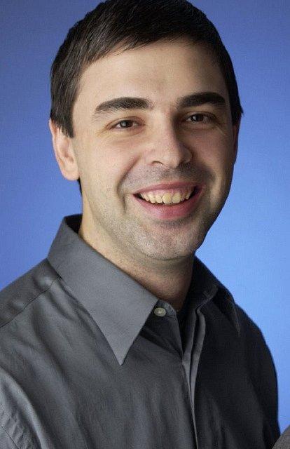 Larry Page v době, kdy zakládal Google