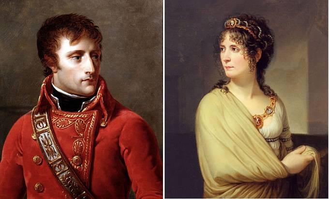 Napoleon a jeho manželka Josefína