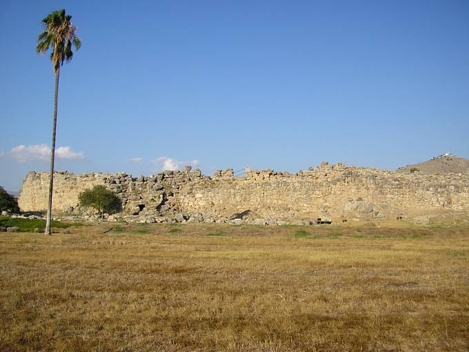 Pozůstatky paláce Tíryns