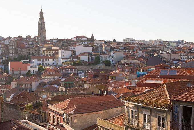 Výhled na Porto od Sé do Porto