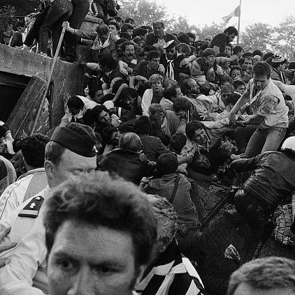 Fotbalový masakr v Bruselu, 1985, Heysel Stadium