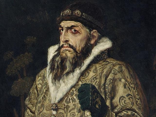 Ruský car Ivan Hrozný