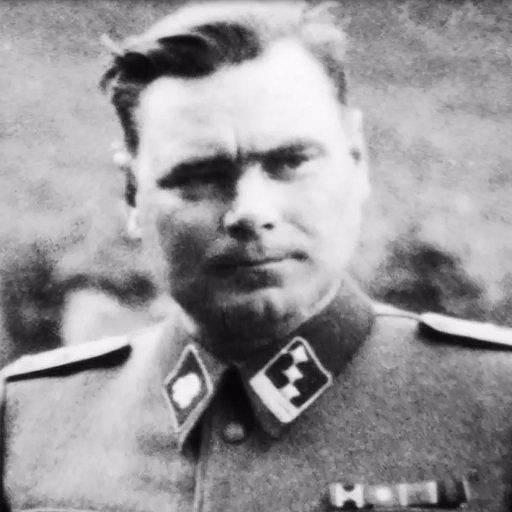 Josef Kramer, velitel tábora Bergen-Belsen
