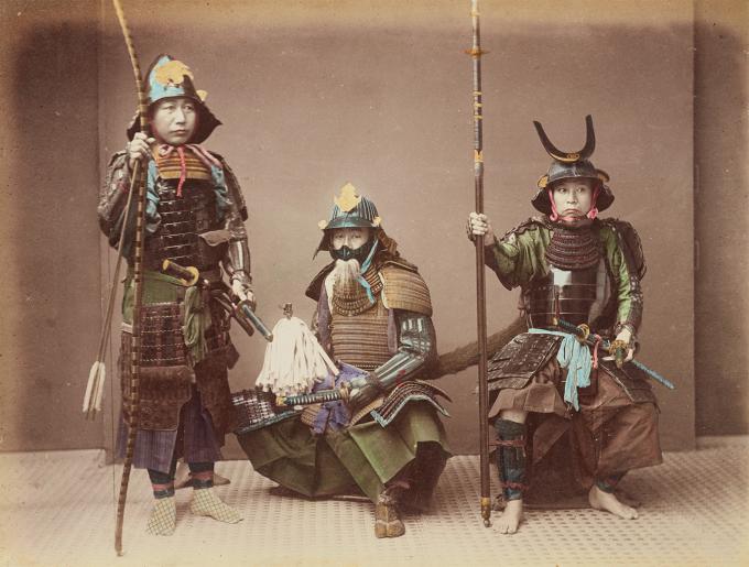 Japonští samurajové