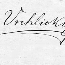 Podpis Jaroslava Vrchlického