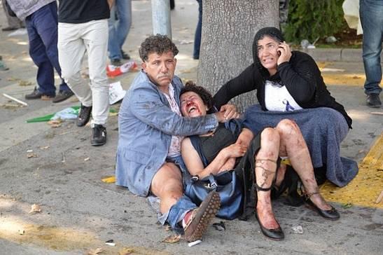 10. 10. 2015, Ankara, Turecko, 95 mrtvých