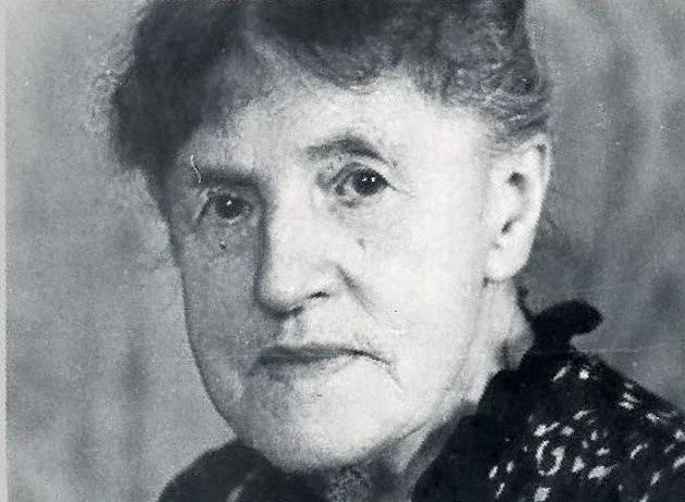 Luise Danz v pokročilém věku