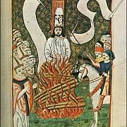 Jenský kodex: Upálení Mistra Jana Husa