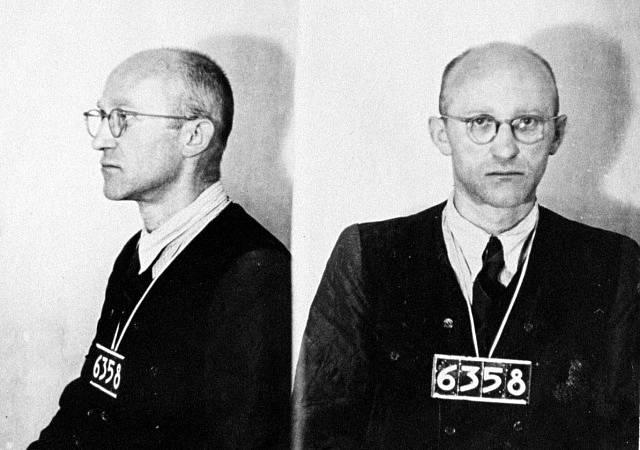 Werner Tutter, velitel SS oddílu Josef. Muž, jenž má na svědomí zničení osady Ploština