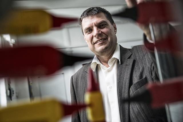 Šéf Druchemy Jiří daněk nastoupil do podniku před deseti lety jako krizový manažer