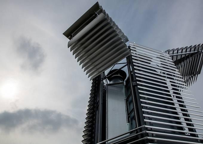 Smog Free Tower v Rotterdamu.