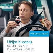 Užijte si víno za volantem, jakoby říkaly České dráhy