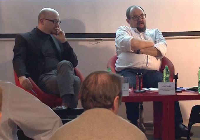 Petr Bednář a Josef Šlerka