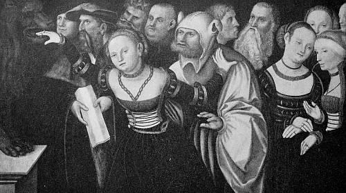 Do 16. století byla zvykem tzv. ulička hanby, kdy musela cizoložnice projít davem, který ji zahrnoval nadávkami a urážkami.