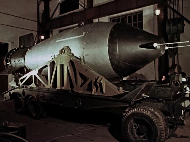 Sovětská Car-bomba byla největší vodíkovou bombou světa.